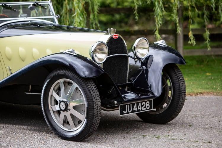 front of 1932 Bugatti Type 55 Super Sport Roadster
