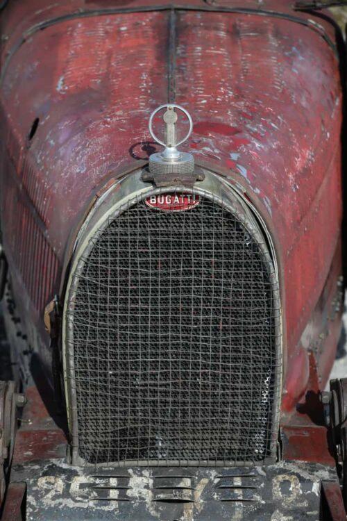 front of Bugatti Type 35C Grand Prix