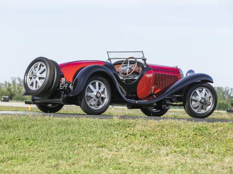 rear of Bugatti Type 55 Super Sport