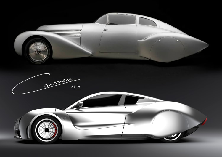 Hispano Suiza of yesterday and today