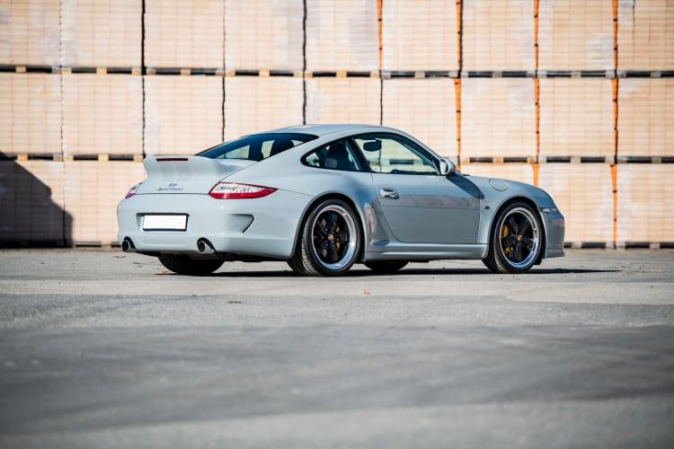 rear of 2010 Porsche 911 Sport Classic