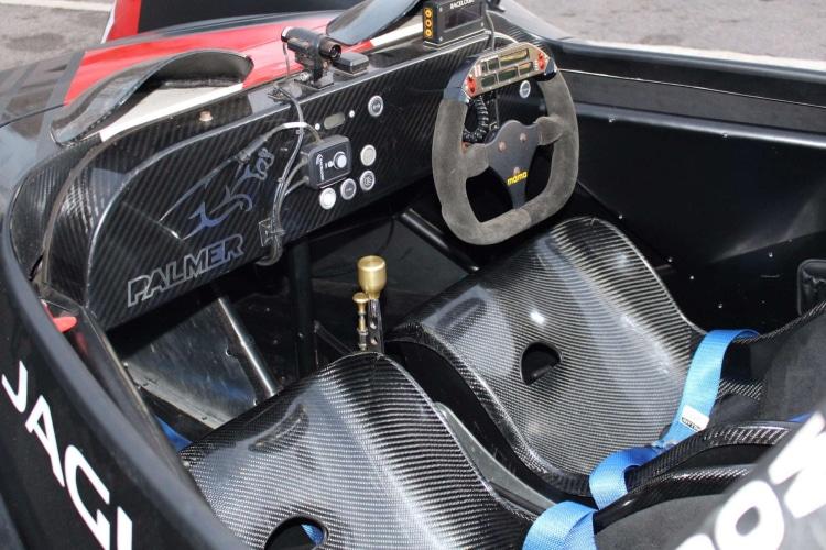 interior of Palmer Jaguar JP1 TS