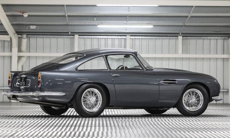 side of 1961 Aston Martin DB4 GT