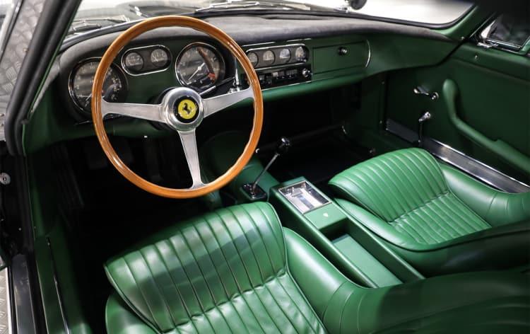 interior of 1967 Ferrari 275 GTB/4