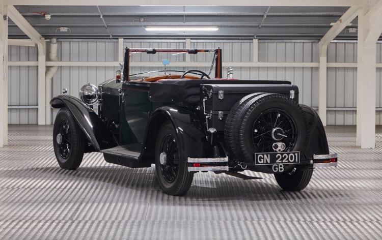 rear of 1930 Rolls-Royce Phantom II Continental