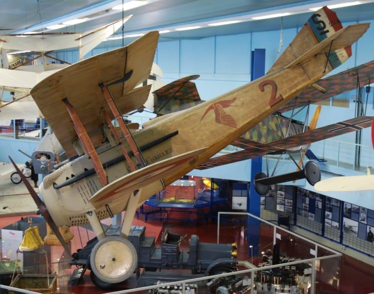 Georges Guynemer's original SPAD S.VII