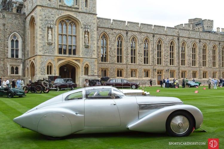 side of 1937 Hispano-Suiza H6C Dubonnet Xenia