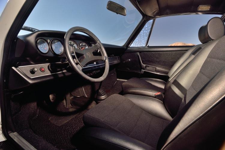 interior of Porsche 911 Carrera RS 2.7