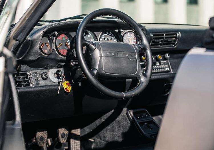 interior of 1992 Porsche 911 Type 964 Carrera 2 Convertible Works Turbo Look