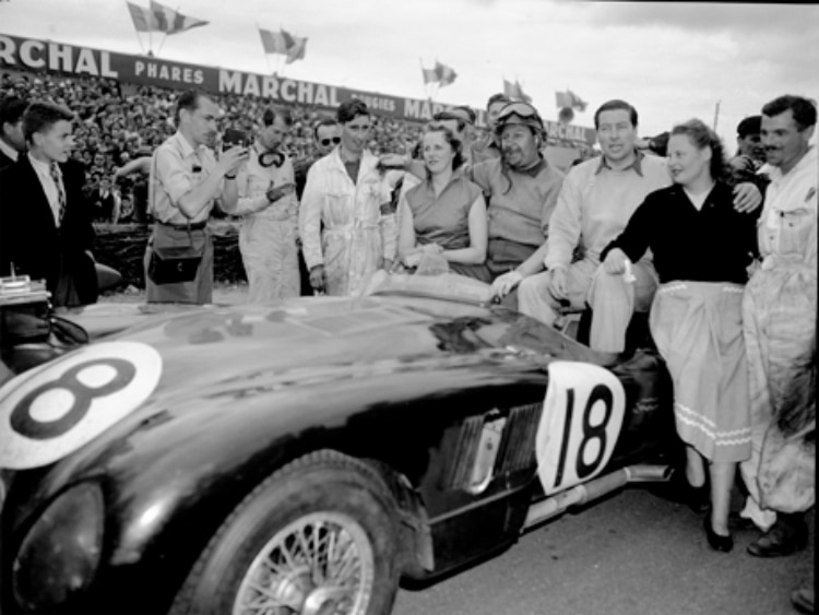 victory in the 1953 24 Hours of Le Mans