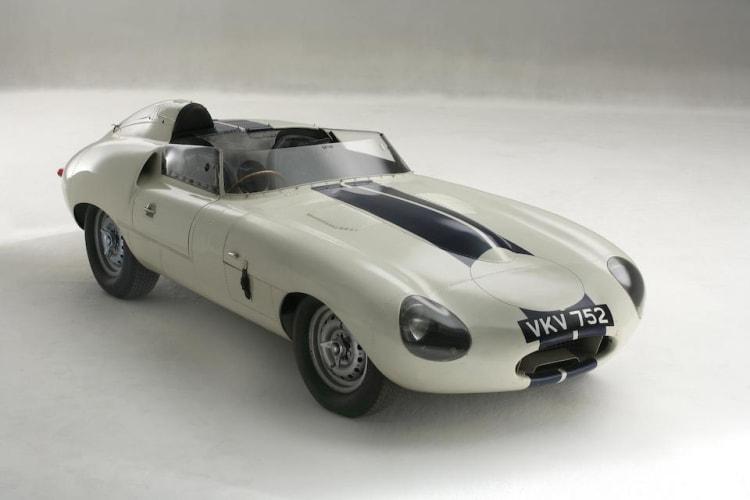 1960 Jaguar E2A.