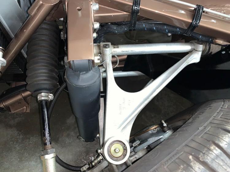 suspension E-Type