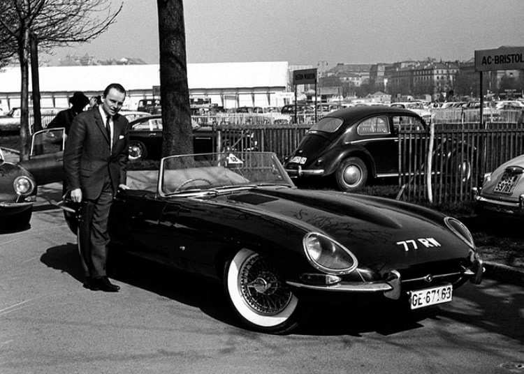legendary test driver Norman Dewis