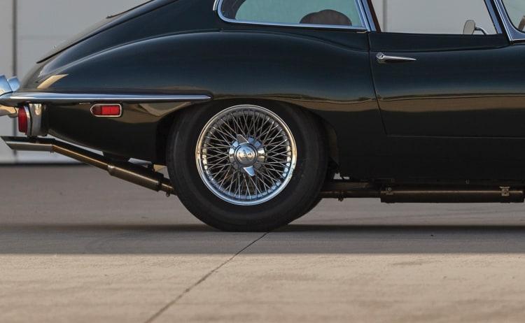tires of Jaguar