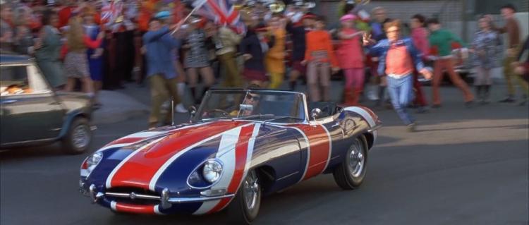 Austin Powers E-Type Jaguar