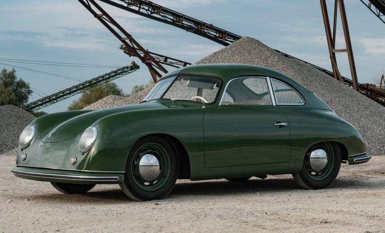 1952 Porsche 356 Coupe by Reutter