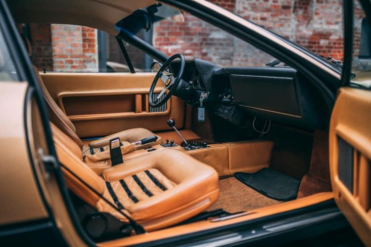 interior of 1974 Ferrari 365 GT4 BB