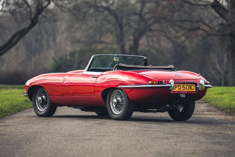1965 Jaguar E-Type Roadster 4.2 Series 1