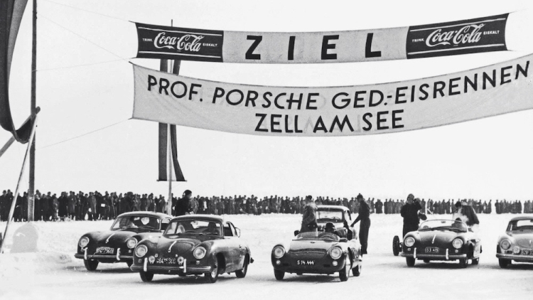 1952 Ice Race at Lake Zell
