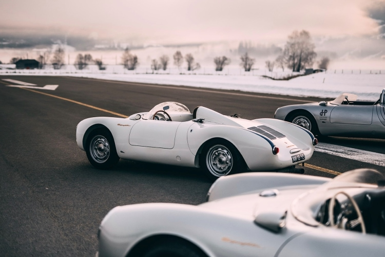 History of the GP Ice Race with vinatage cars