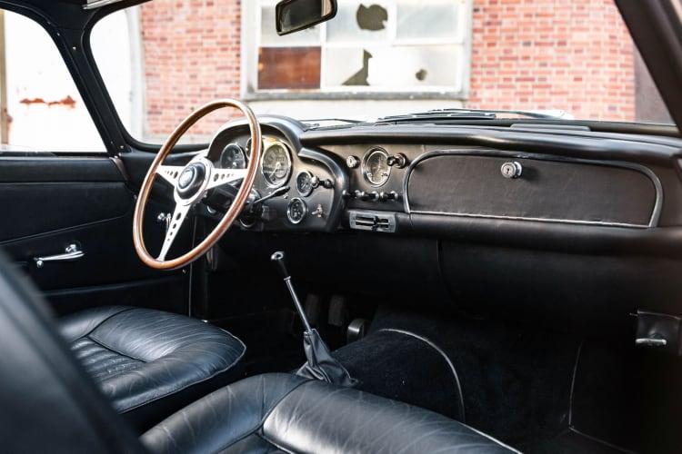 interior of 1959 Aston Martin DB4 GT