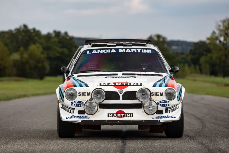front of 1986 Lancia Delta S4