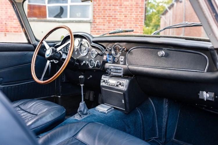 interior of 1965 Aston Martin DB5 Vantage
