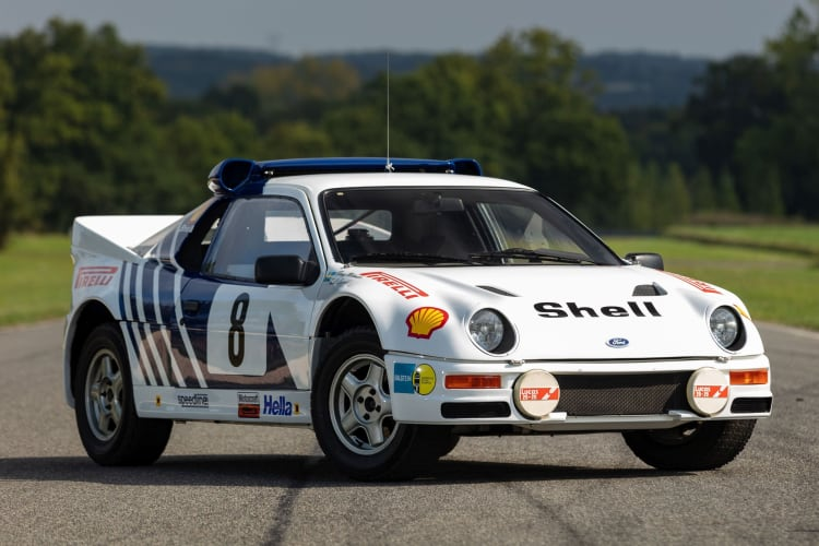 1986 Ford RS200 Factory