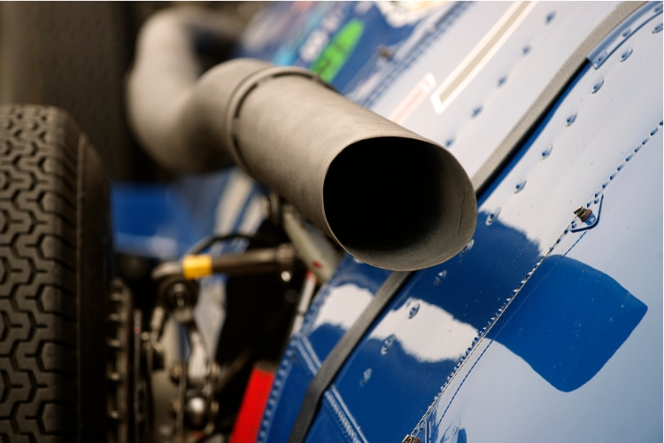 Piccolo Maserati 250F Exhaust