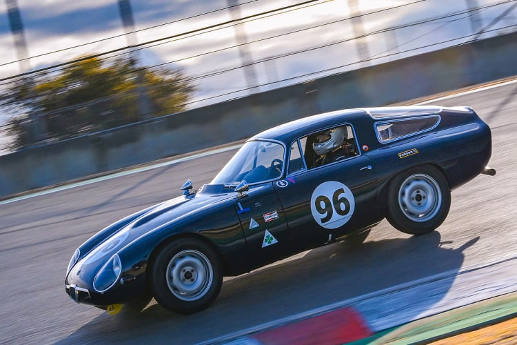 Vintage Car racing photography
