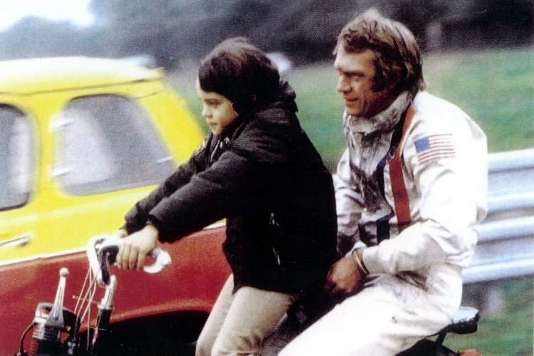 Chad and Steve McQueen
