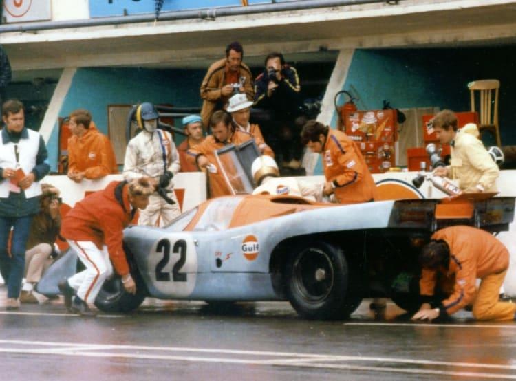 Filming Le Mans