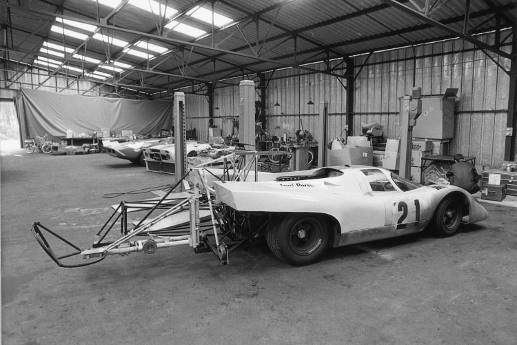 Stage production of Le Mans
