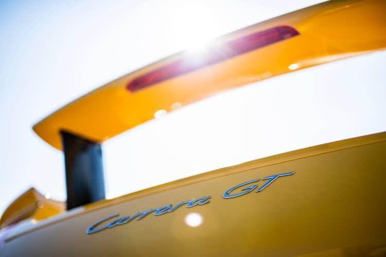 spoiler of 2005 Porsche Carrera GT