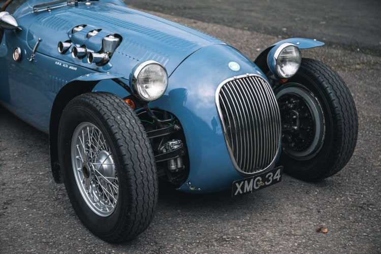 Front of 1950 HWM Alta Jaguar