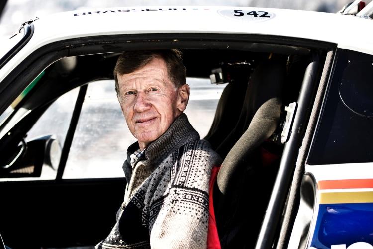 Walter Rohrl in Porsche 953