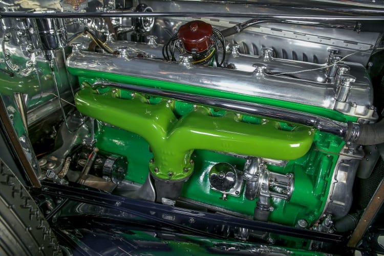 engine of Duensenberg