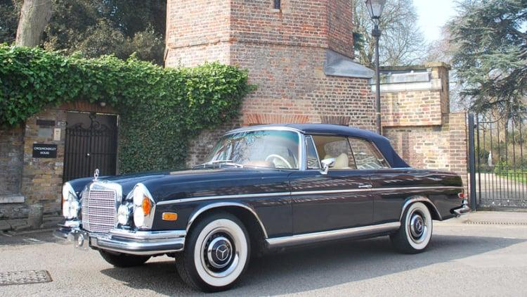 1965 Mercedes 250SE