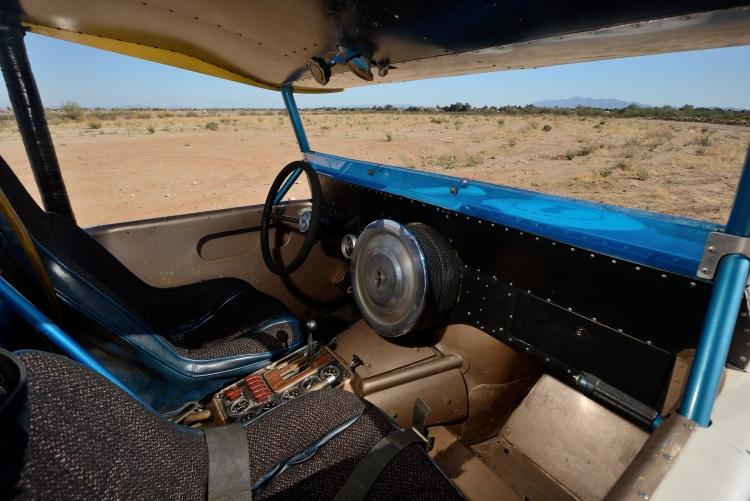 interior of Big Oly Ford Bronco