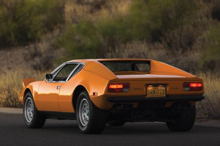 rear of De Tomaso Pantera