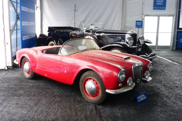 Lancia all original beneath the dust