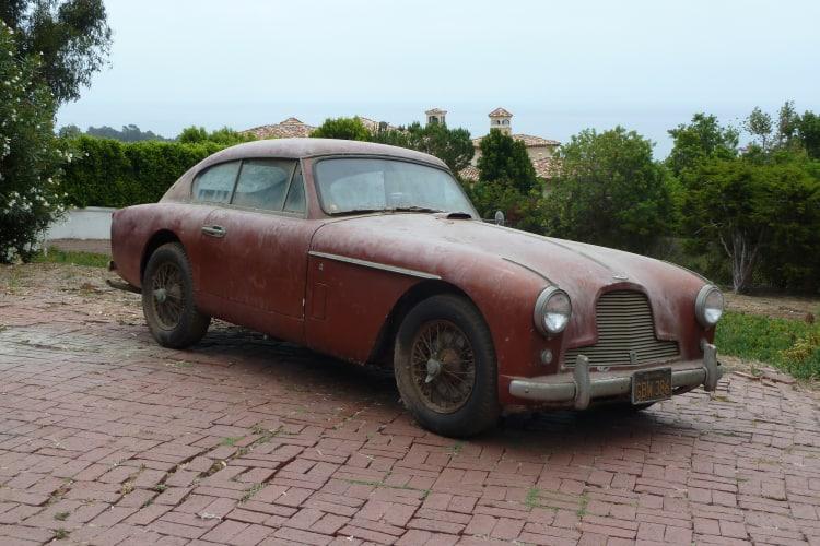 Aston Martin needing restoration