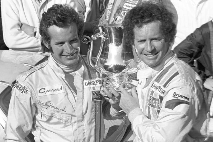 Hurley Haywood and Peter Gregg