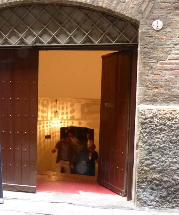 Via Pepoli entrance