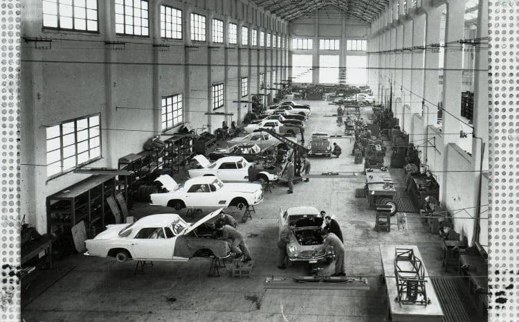 V Maserati factory in Modena
