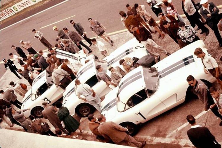 1960 Chevrolet Corvette Le Mans at 1960 24 hours of Le Mans