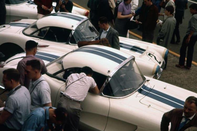 1960 Chevrolet Corvette Le Mans at 1960 Le Mans