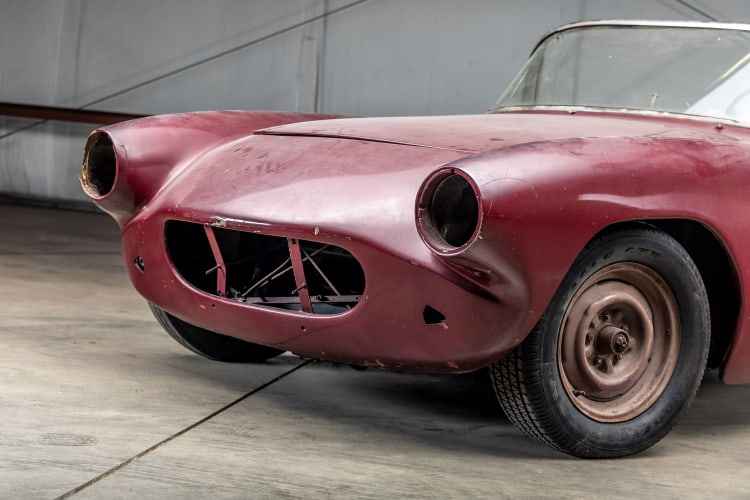 front of 1960 Chevrolet Corvette Le Mans