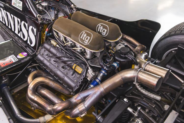 engine of 1981 March 811 Formula 1