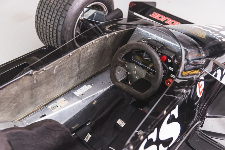 cockpit of 1981 March 811 Formula 1